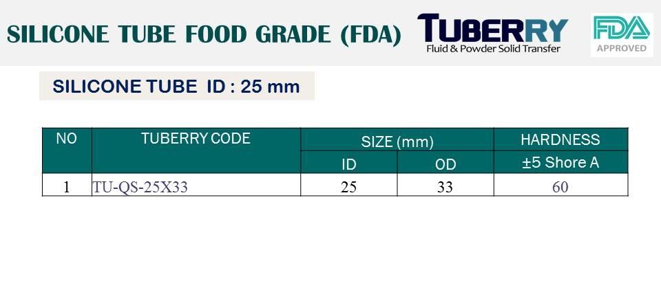 ท่อยางซิลิโคนฟู้ดเกรด ID 25 mm tuberry.jpg