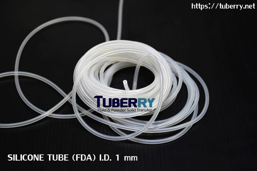 ท่อยางซิลิโคนสีขาวใส ID 1 mm.JPG