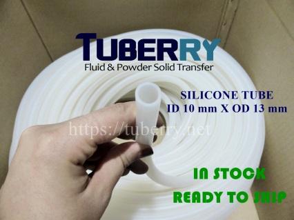 สายยางซิลิโคน ฟู้ดเกรด ID 10 X OD 13 mm พร้อมจัดส่ง