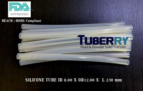 Silicone Tube ID 8 X OD 12 mm