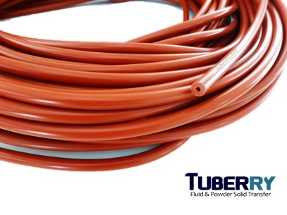 Silicone Tube สีแดงอิฐ ID 3 mm OD9.5 mm