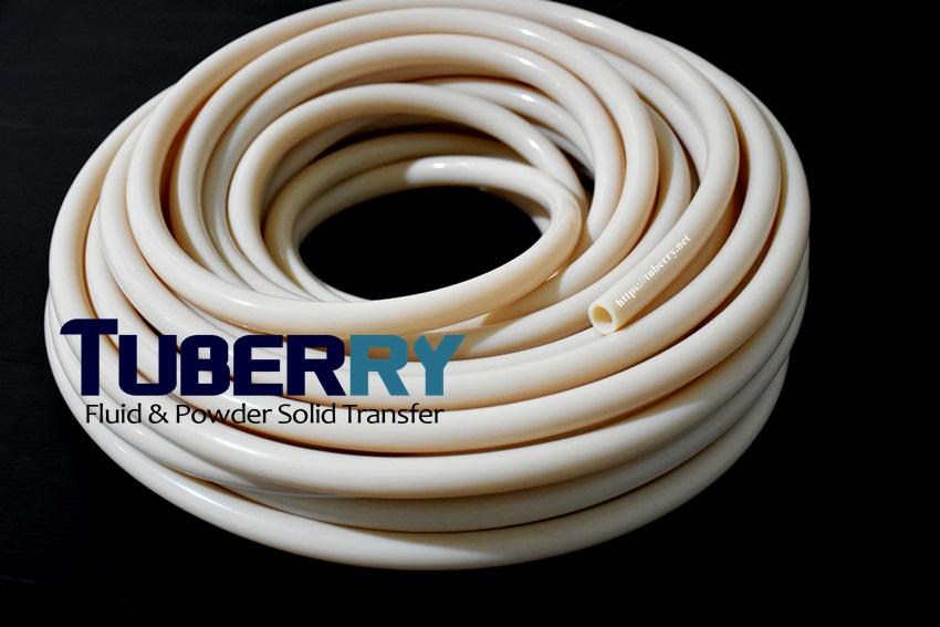 รับผลิตท่อยางซิลิโคนสีครีมทนความร้อนสูง 315 C