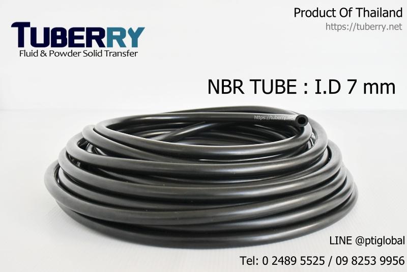 ผู้ผลิตและจำหน่ายท่อยางNBR  TUBE I.D 7 mm.JPG