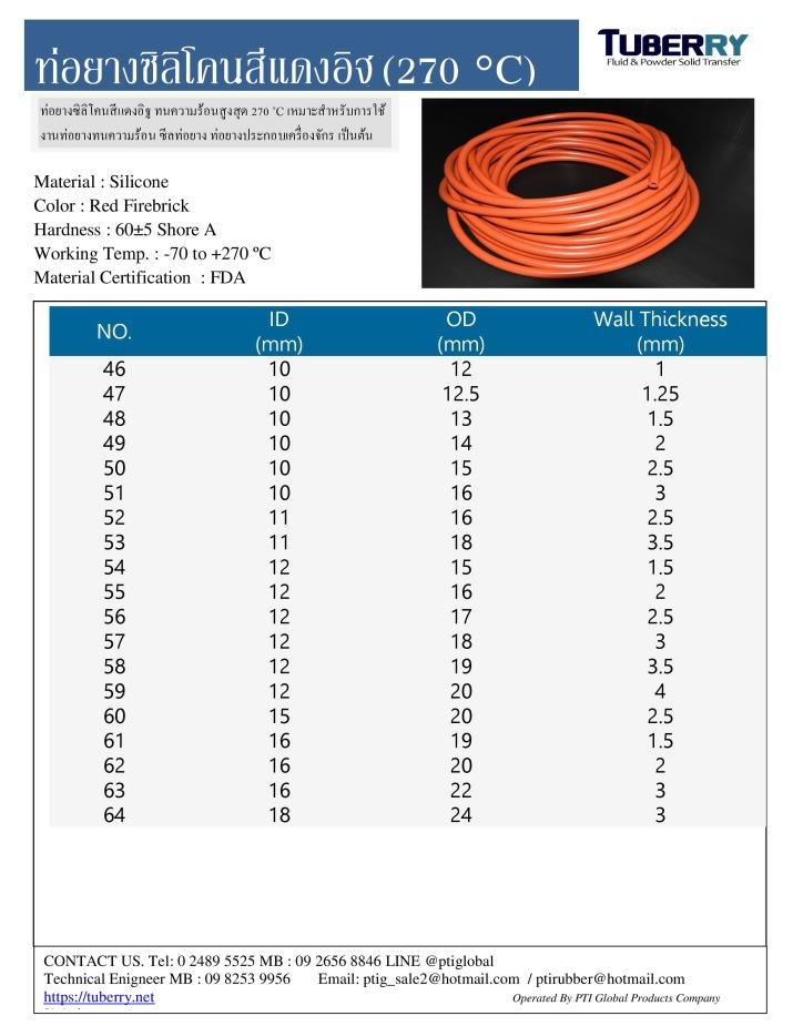 ท่อยางซิลิโคนทนความร้อน270 (3)