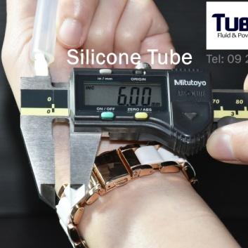 ท่อยางซิลิโคน I.D 6 mm