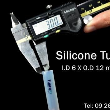 ท่อยางซิลิโคน wall Thickness 3 mm