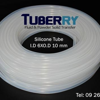 โรงงานผลิตท่อยางซิลิโคน I.D 6 XO.D 10 mm