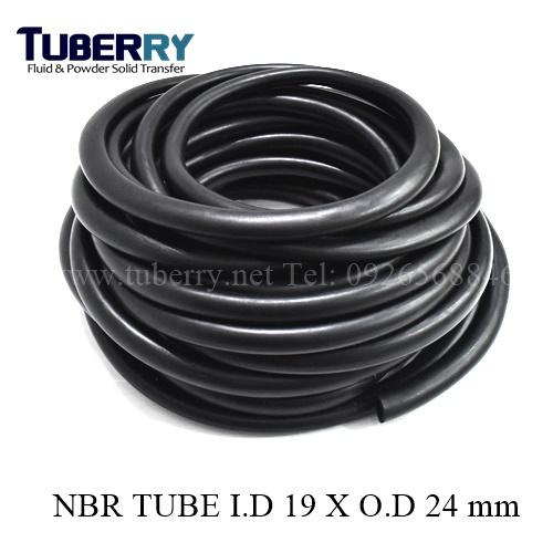 ท่อยางNBR ทนน้ำมัน I.D 19XO.D 24 mm
